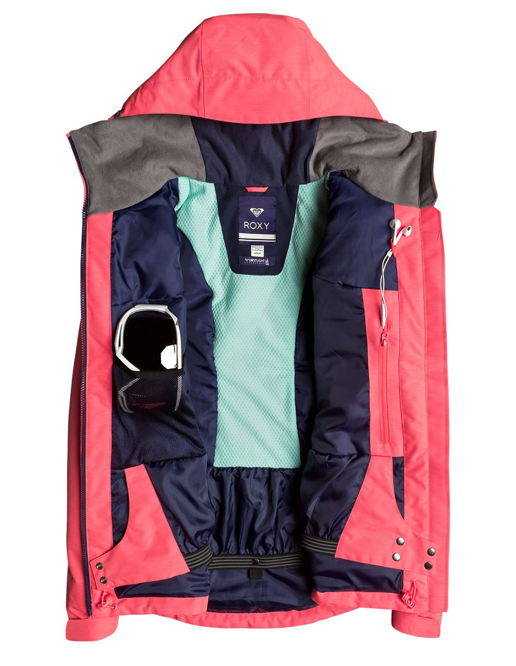 Wildlife Snow Jacket by Roxy, Layers