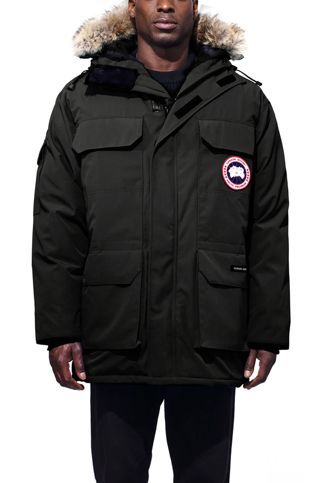 Canada Goose Expedition Parka for Men, front