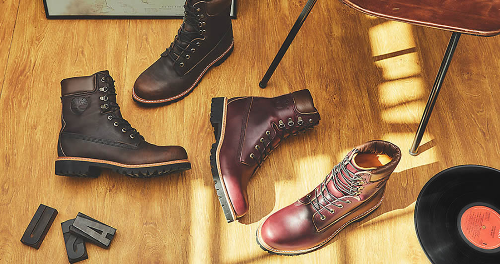 Leather Icon Boot Oxblood for Men by Timberland