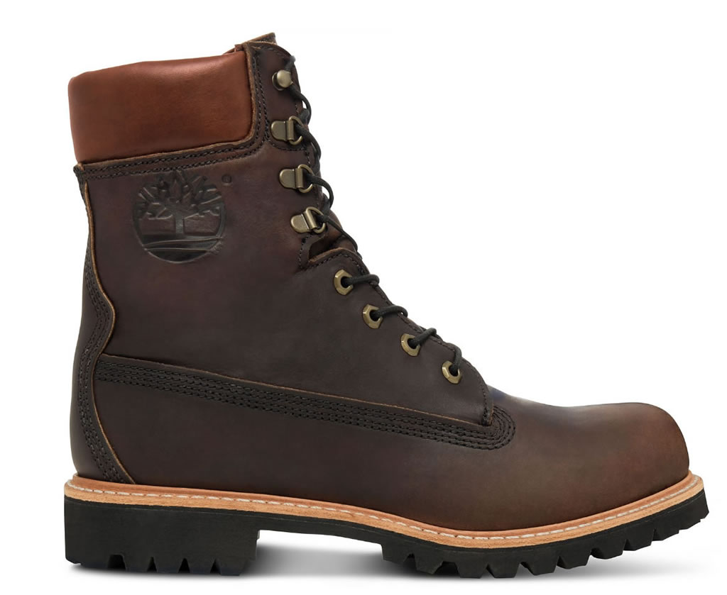 Limited edition leather boots by Timberland