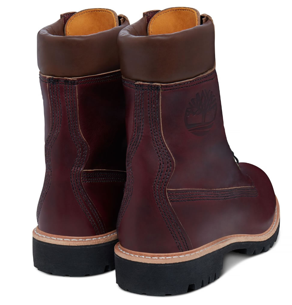 Men's USA-made 8-inch Icon Boot Oxblood by Timberland