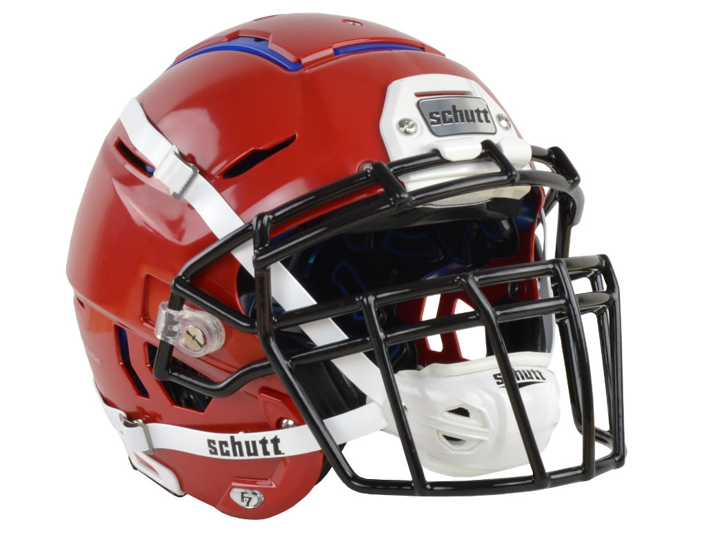Scarlet F7 Adult Football Helmet by Schutt
