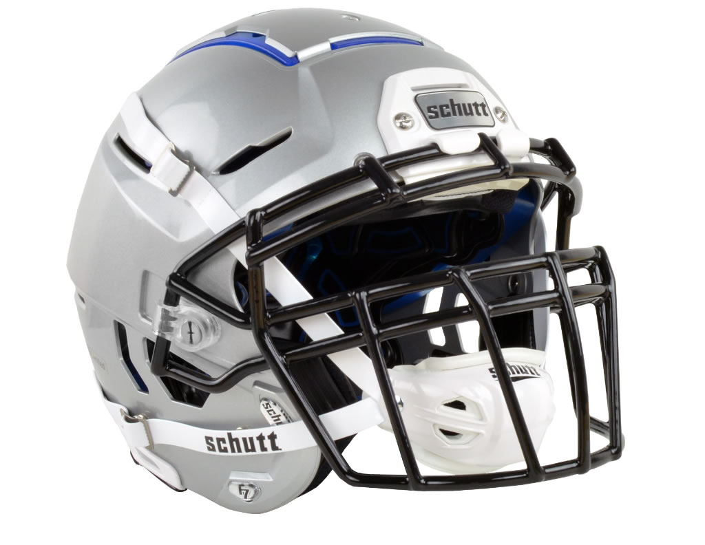 Silver F7 Adult Football Helmet by Schutt