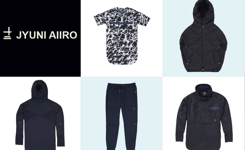 The JYUNI Aiiro Collection by Asics