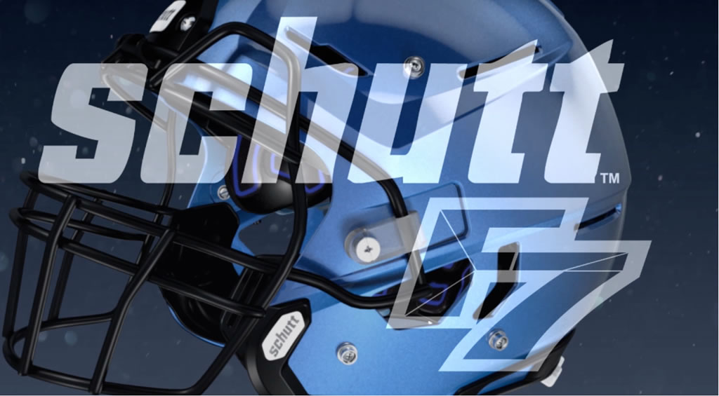 The New F7 Adult Football Helmet by Schutt