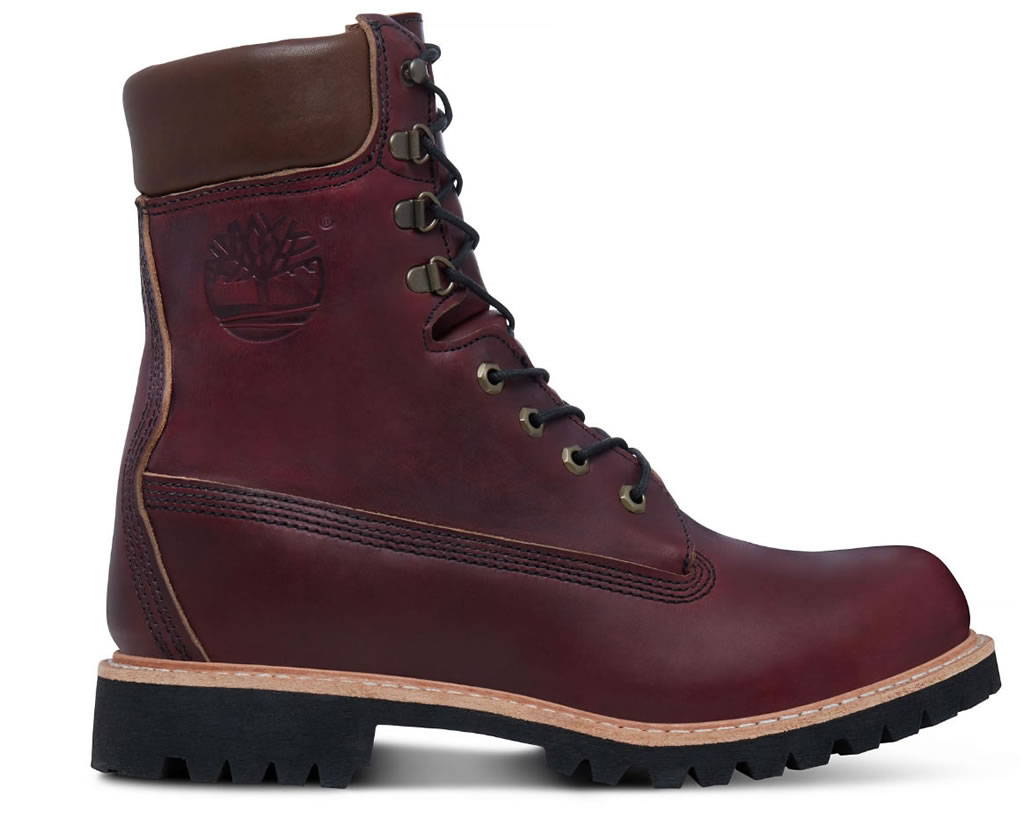 Timberland Men's USA-made 8-inch Icon Boot Oxblood