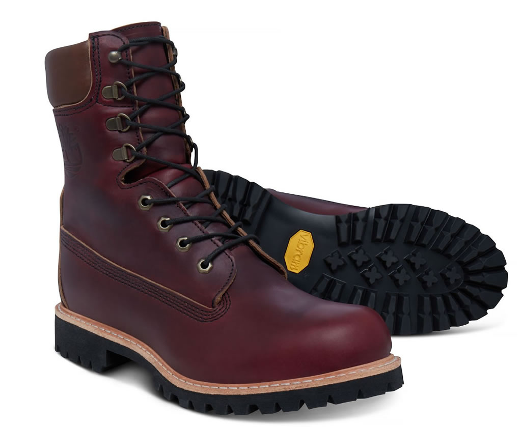 Timberland USA-made 8-inch Icon Boot Oxblood, Sole