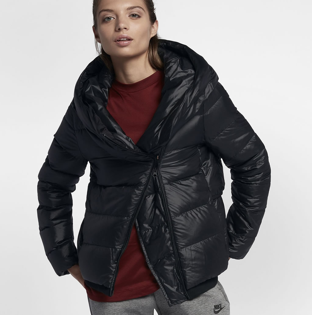 Black Down Women's Jacket by Nike