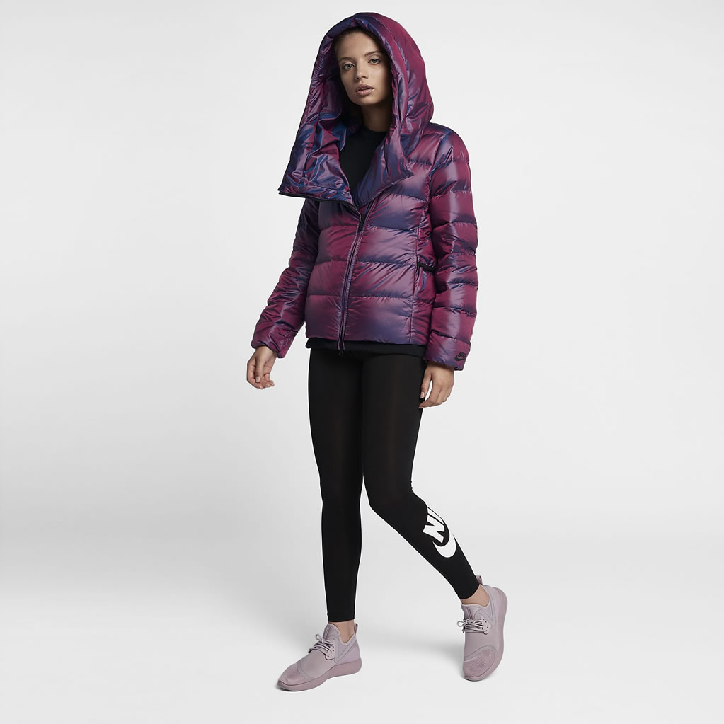 Bordeaux Down Jacket For Women by Nike
