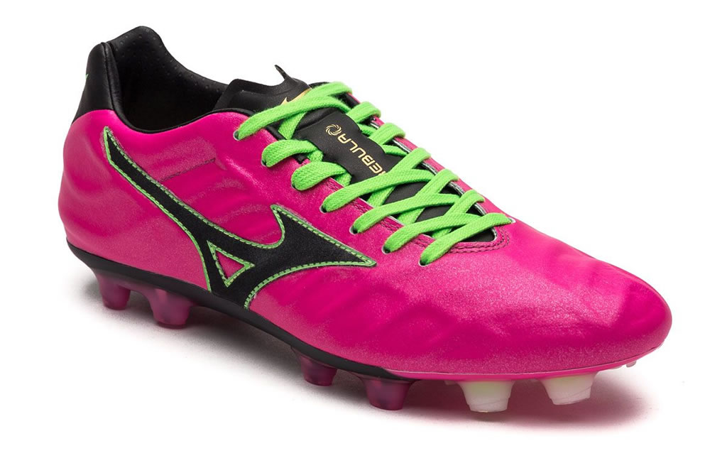 Mizuno Pink Rebula Soccer Cleat for Menr