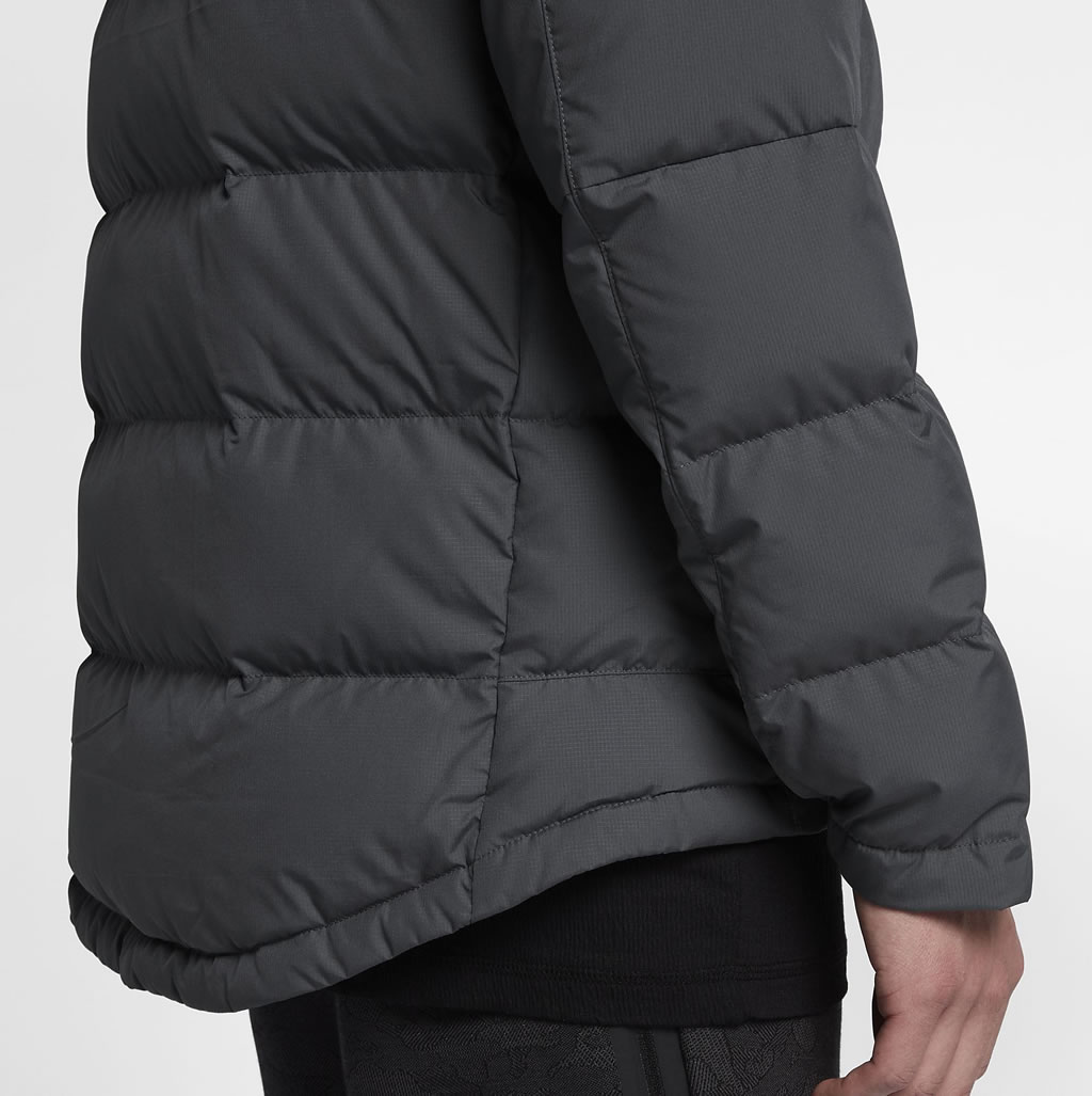 Nike Sportswear Men's Down Jacket, Fabric