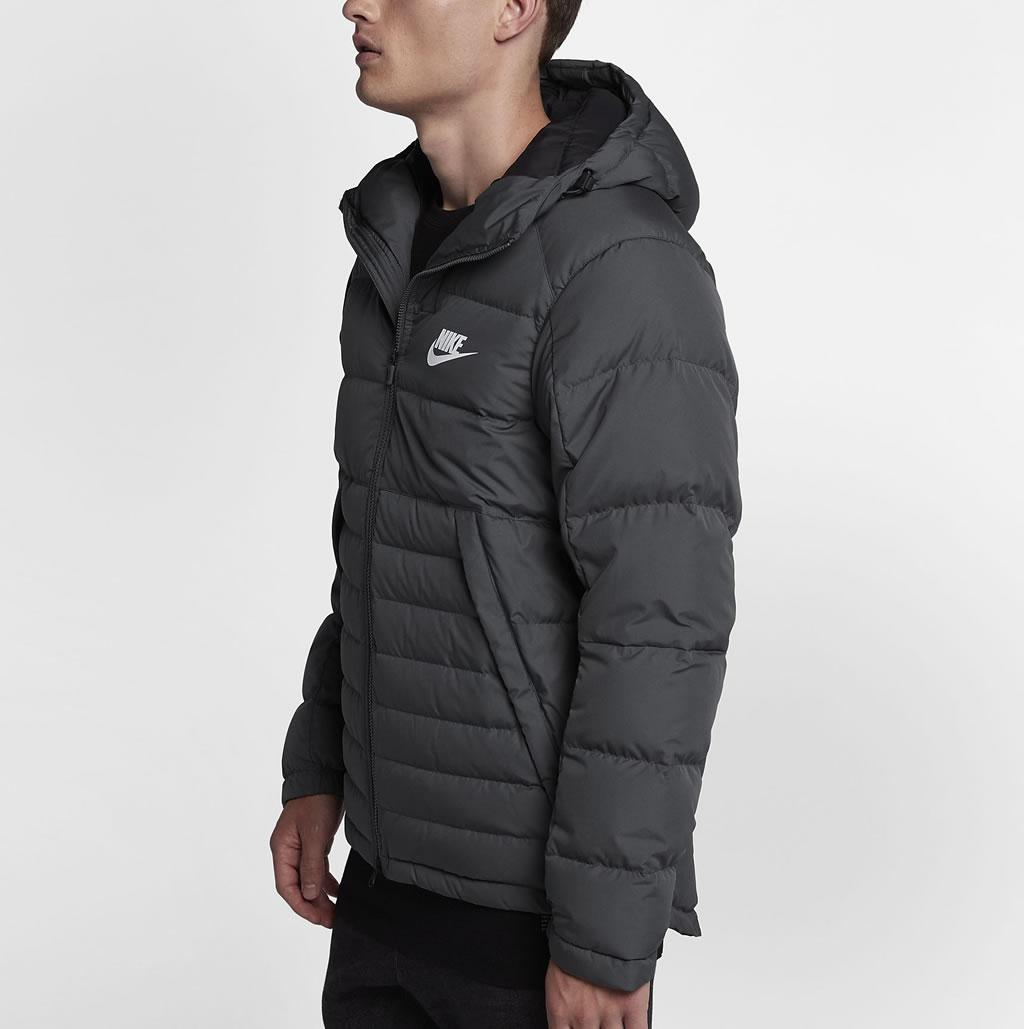 Nike Sportswear Men's Down Jacket, Side