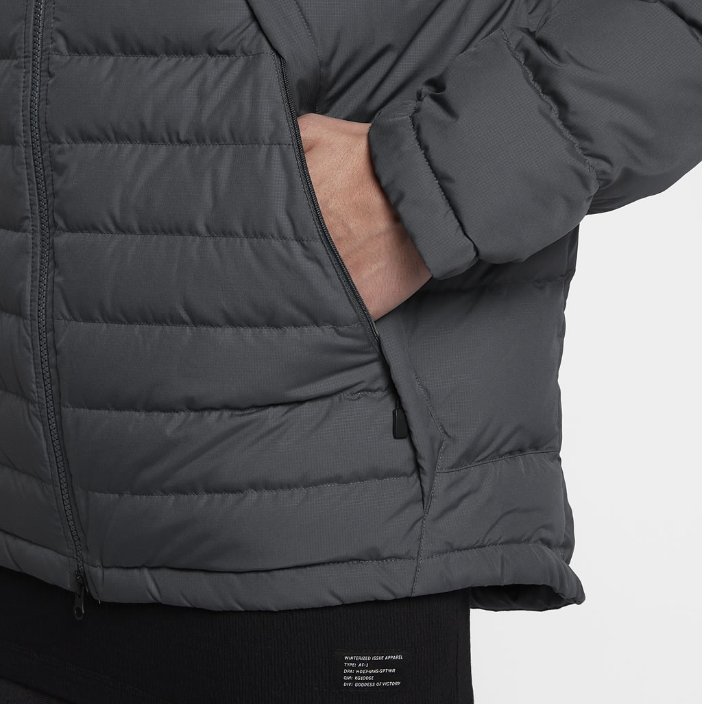 Nike Sportswear Men's Down Jacket, Zippered Pocket