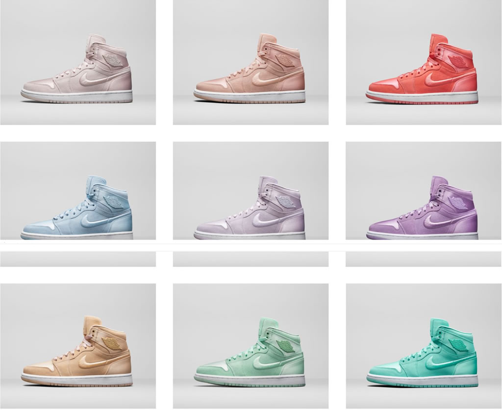 Colors Air Jordan 1 SOH for Women