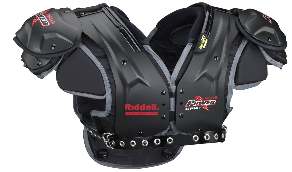 The Riddell Power SPK+ Adult Football Shoulder Pads