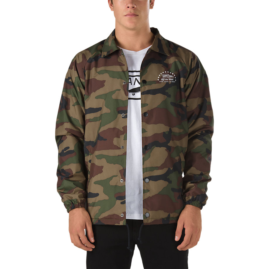 vans green bomber jacket