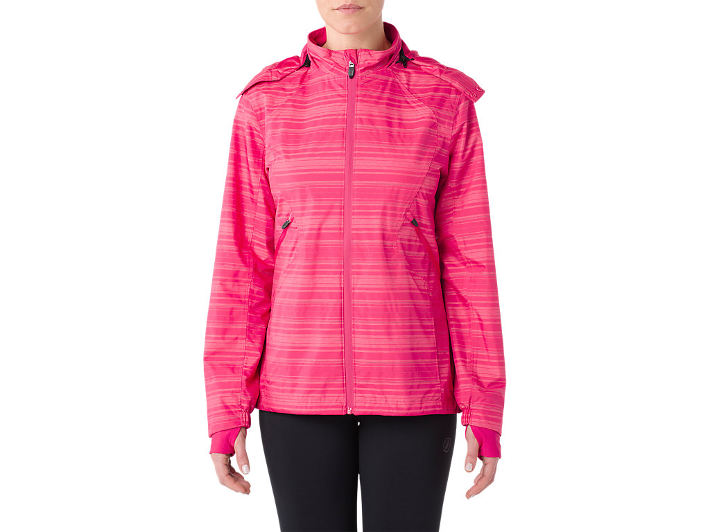 Asics waterproof running jacket for Women