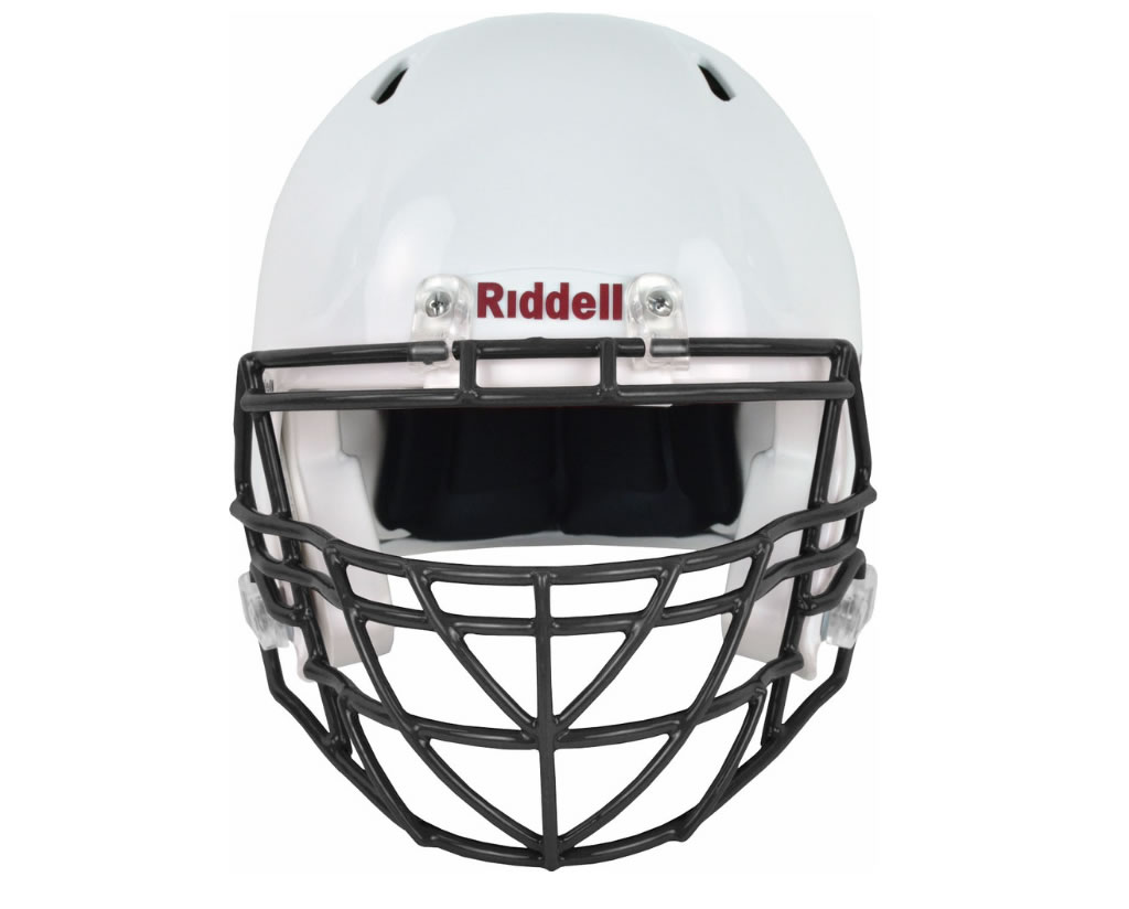 Black S2BDC-TX-HS4 Facemask by Riddell