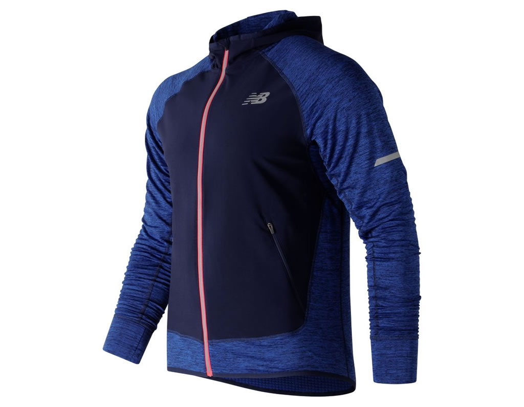 Blue Heat Run Running Jacket by New Balance