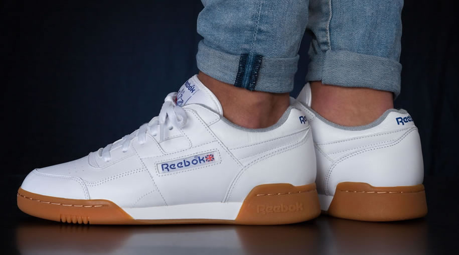 Classic Workout Plus Sneakers by Reebok