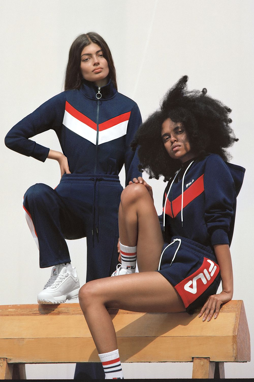Fila Spring 2018 Heritage Collection, Track Suit