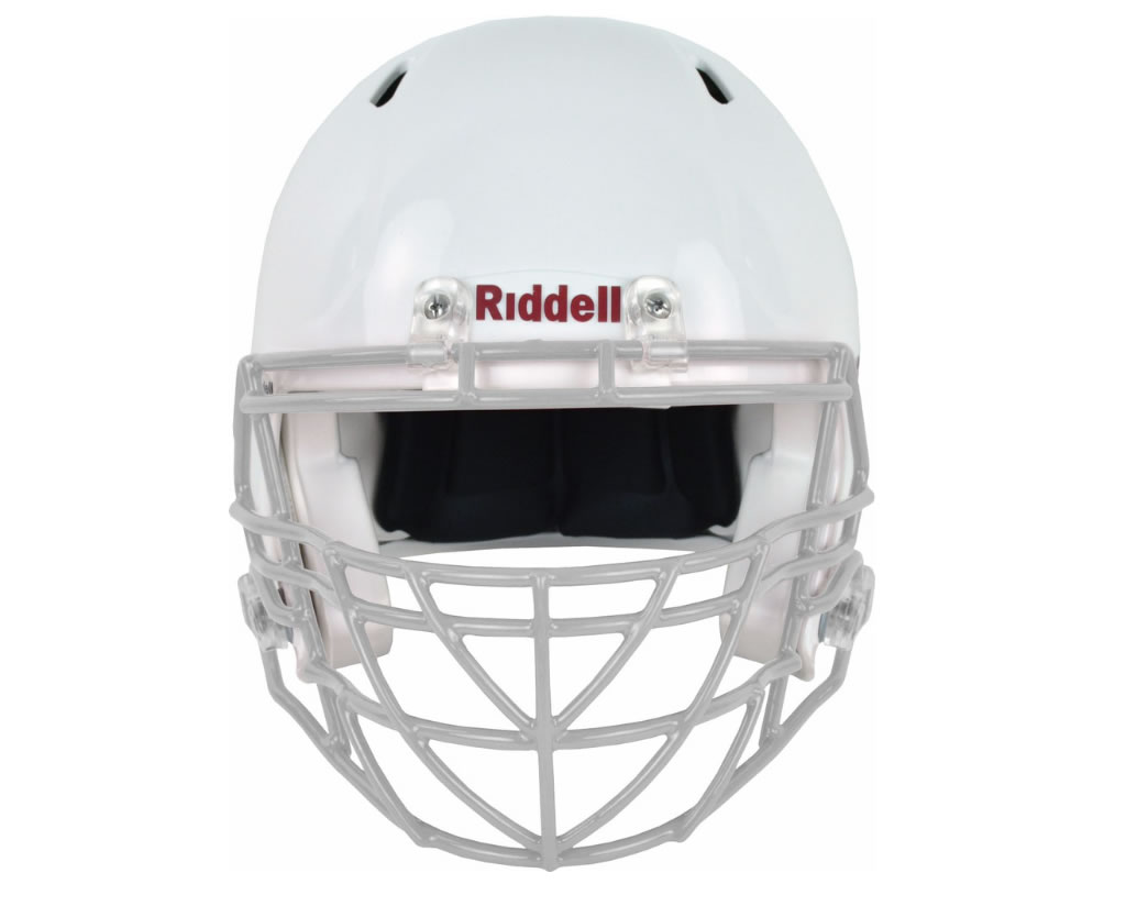 Grey S2BDC-TX-HS4 Facemask by Riddell
