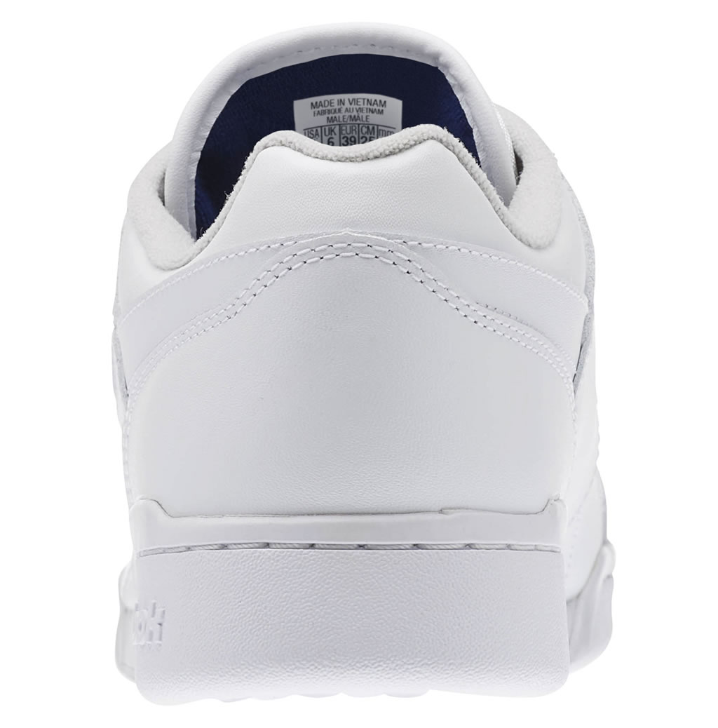 Heel Tab, Workout Plus Sneakers by Reebok