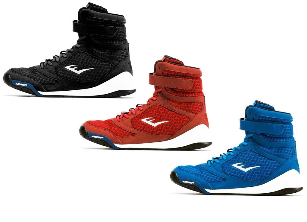 Men's Elite High Top Boxing Shoes by Everlast