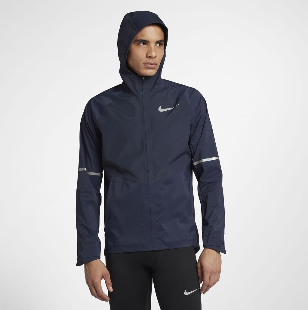 Men's Zonal AeroShield Running Jacket by Nike
