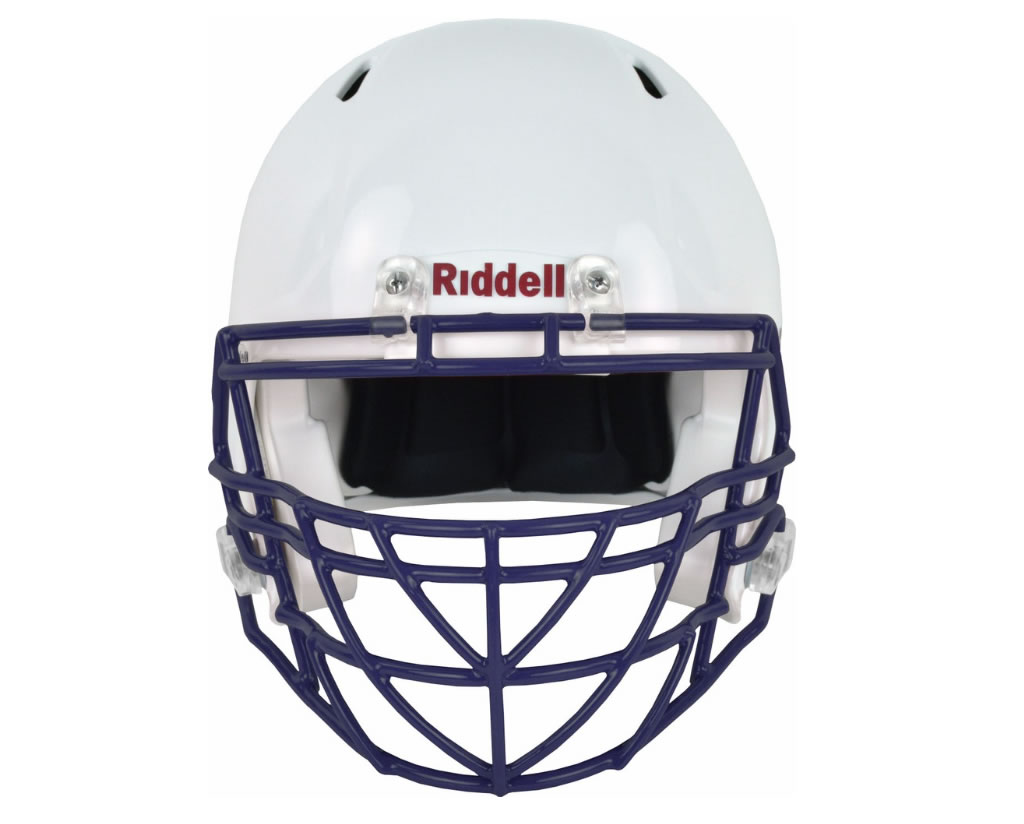 Navy S2BDC-TX-HS4 Facemask by Riddell