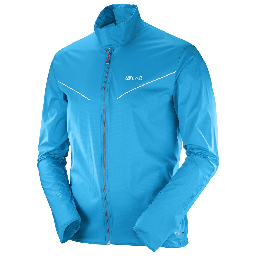 Packable running jacket from Salomon