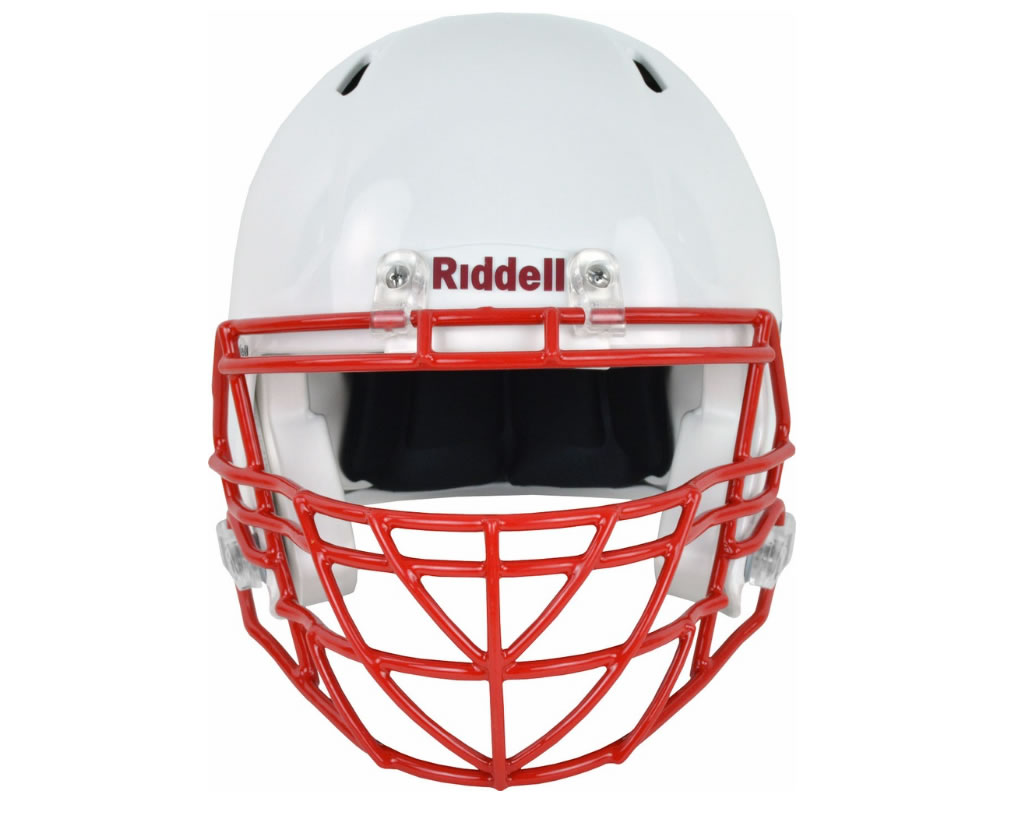 Red S2BDC-TX-HS4 Facemask by Riddell