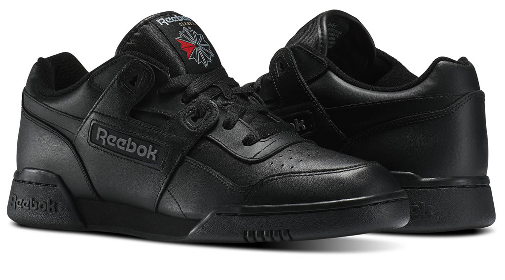 Reebok Workout Plus sneakers, Black