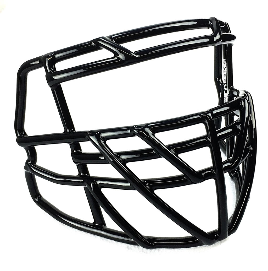 Riddell S2BDC-TX-HS4 Facemask, Side