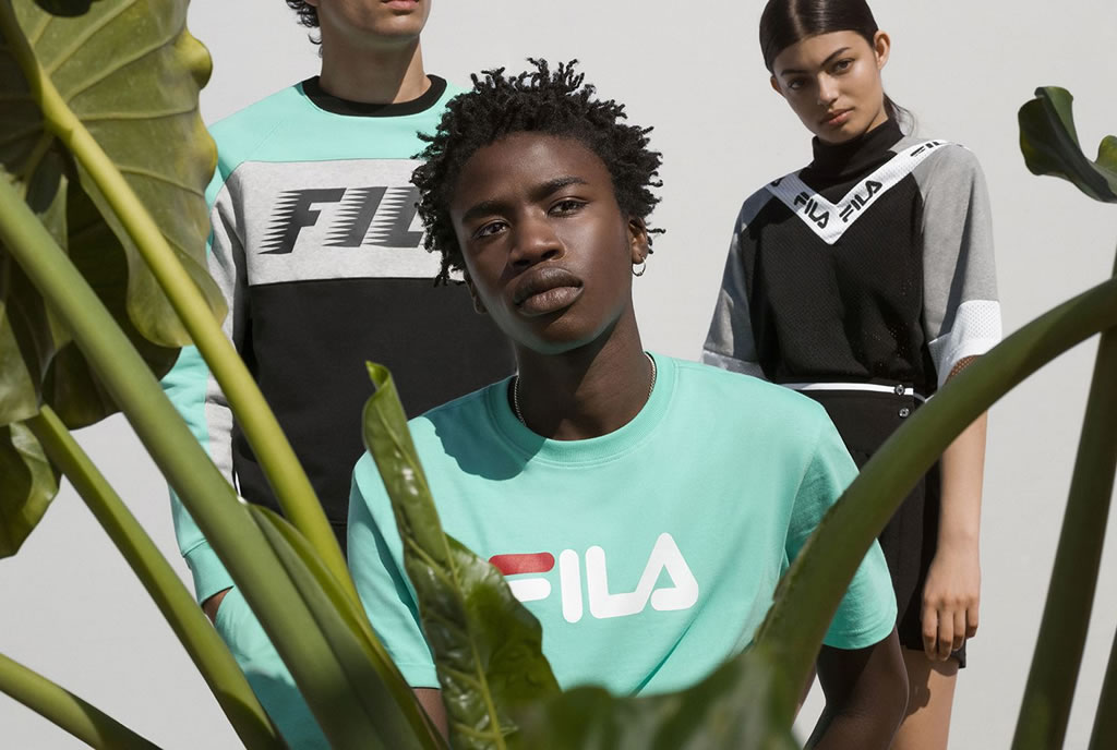 Spring Summer 2018 Heritage Lookbook by Fila