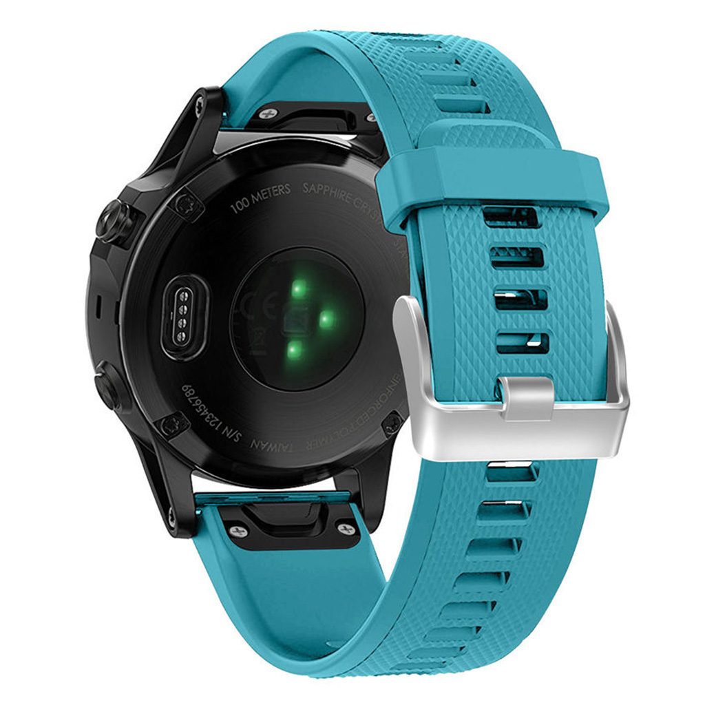 Turquoise fēnix 5 Watch by Garmin