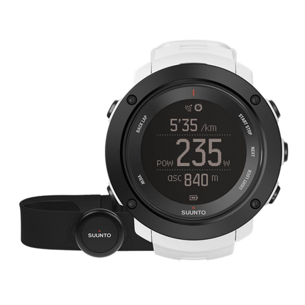 White Ambit 3 Vertical Watch by Suunto