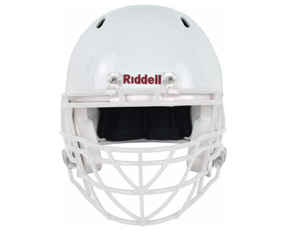 White S2BDC-TX-HS4 Facemask by Riddell