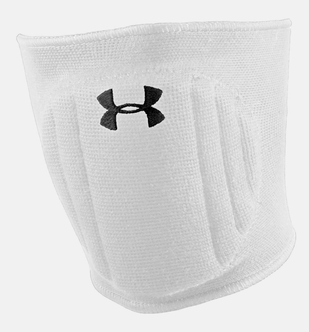 White Volleyball Knee Pads by Under Armour