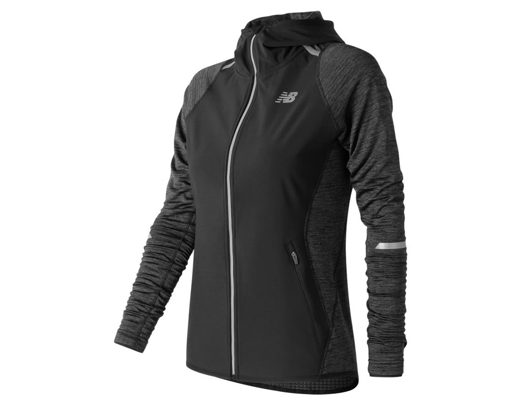 Windproof running jacket from New Balance