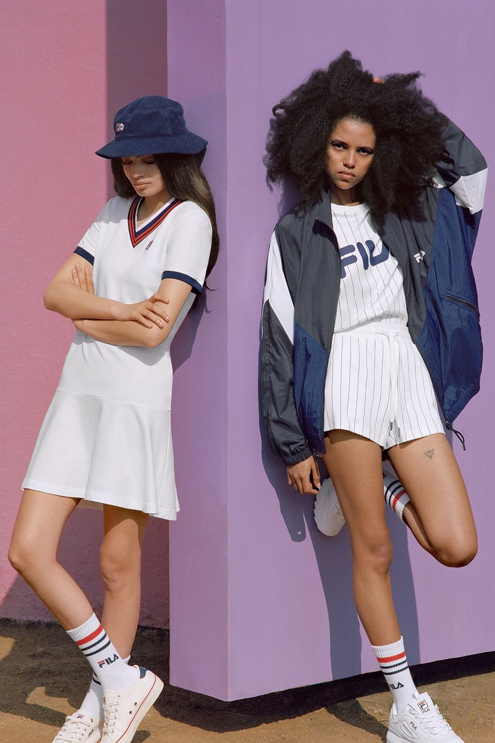 Women's Fila Spring 2018 Collection