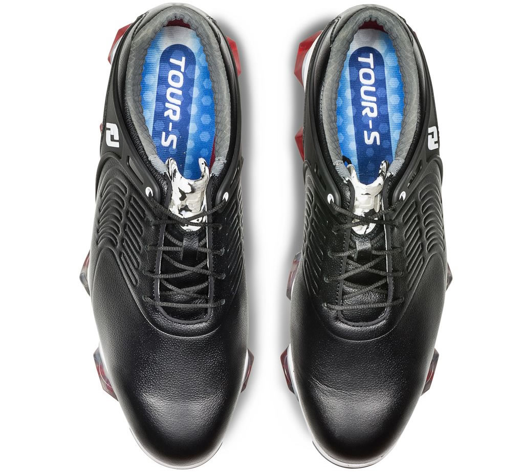 Black Tour-S Mens Golf Shoes by Footjoy