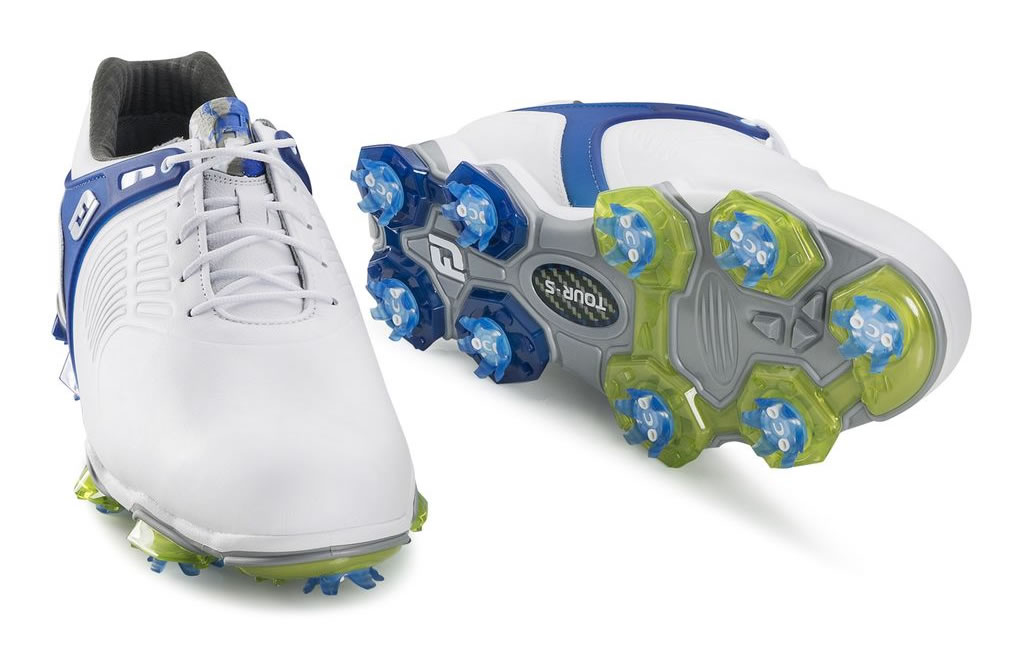 Blue Tour-S Golf Shoes For Men by Footjoy