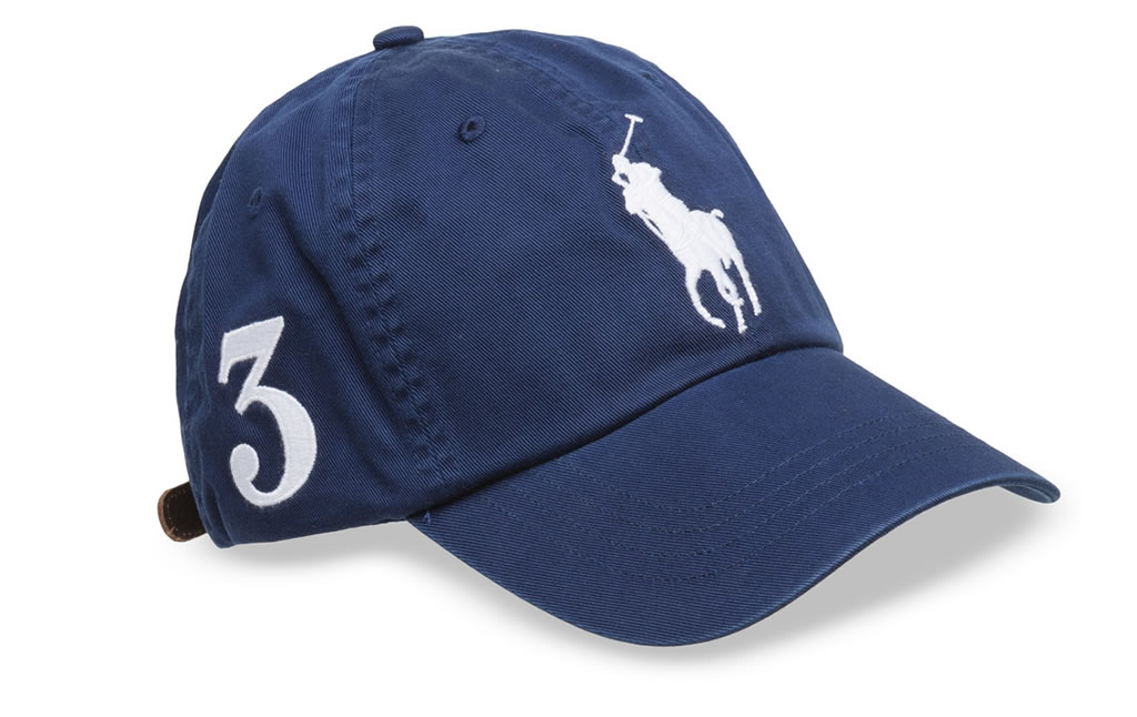 Cotton Chino Baseball Cap by Polo Ralph Lauren