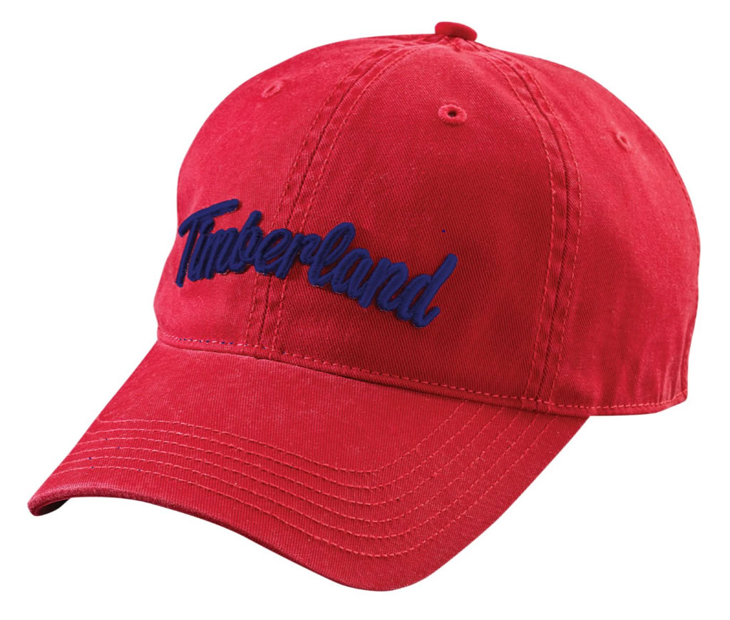 Mens baseball cap by Timberland