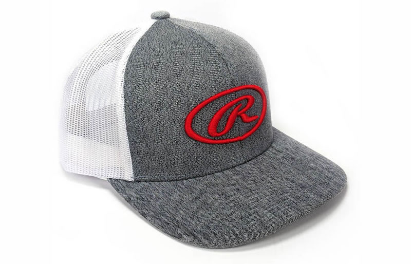 Snapback Trucker Mesh Cap by Rawlings