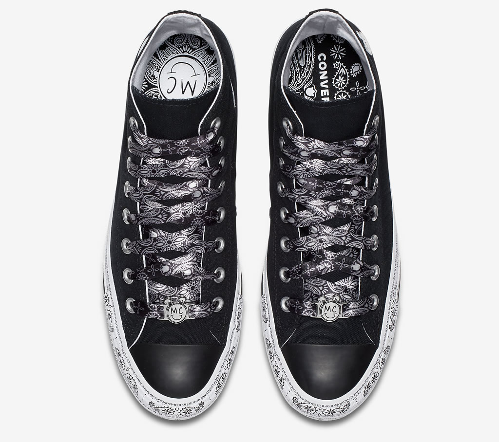 Black Chuck Taylor All Star Shoes by Converse x Miley Cyrus