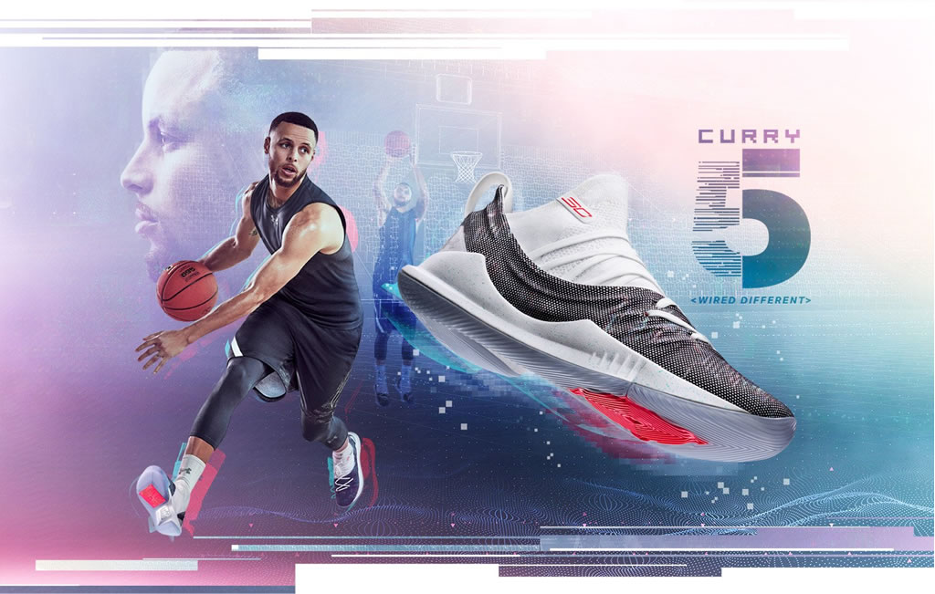 Under Armour Curry 5 Mens Basketball Shoes