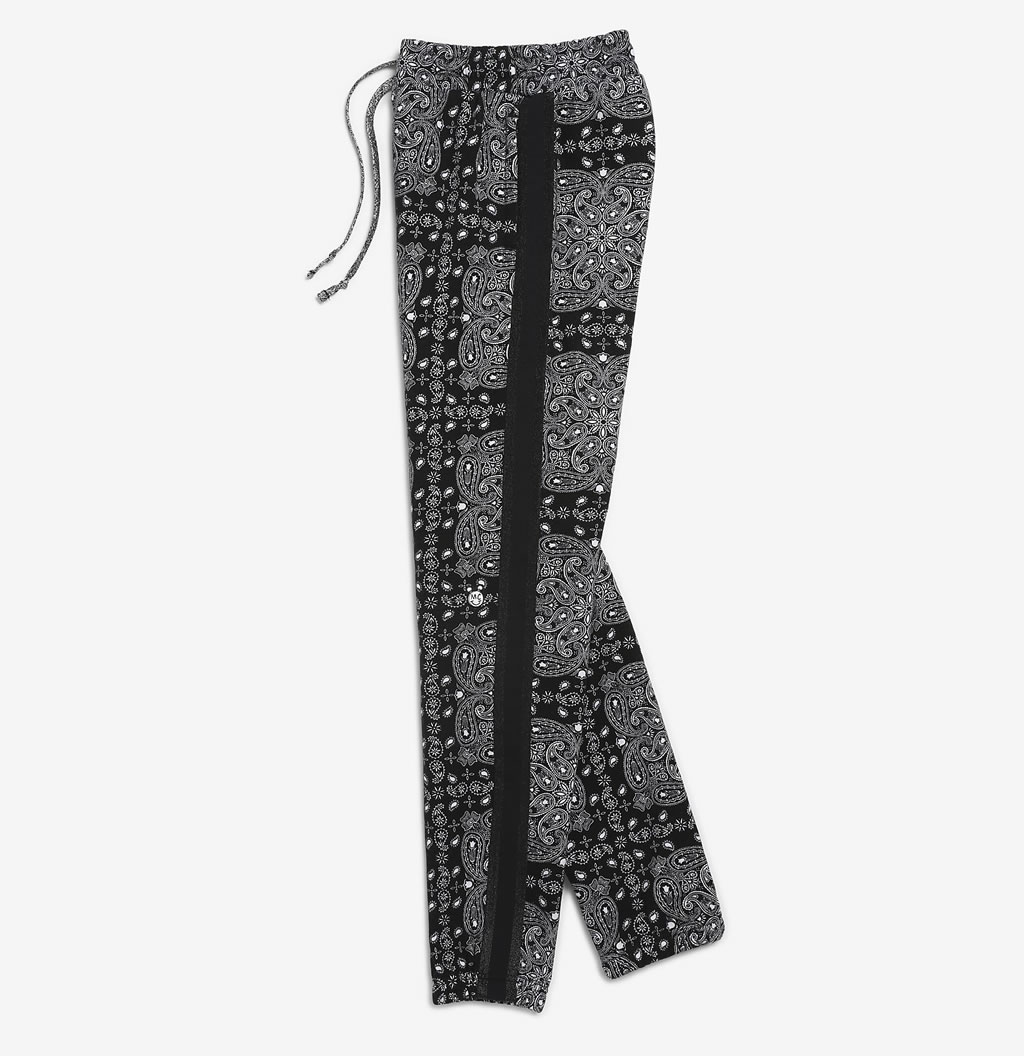 Womens Bandana Sweatpants by Miley Cyrus and Converse
