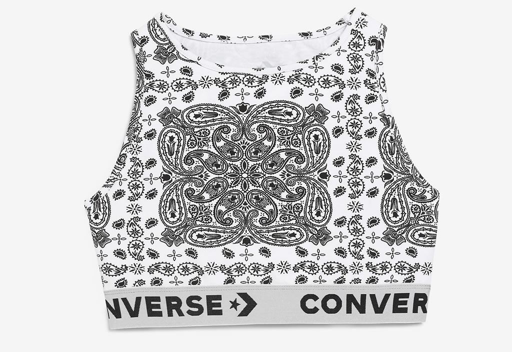 Womens Bandana Top by Converse and Miley Cyrus